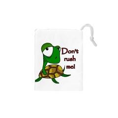 Turtle Joke Drawstring Pouches (xs)