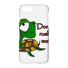 Turtle Joke Apple Iphone 7 Hardshell Case