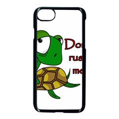 Turtle Joke Apple Iphone 7 Seamless Case (black)