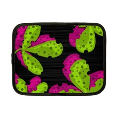 Decorative leafs  Netbook Case (Small)