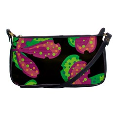 Colorful leafs Shoulder Clutch Bags