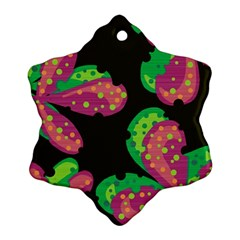 Colorful Leafs Ornament (snowflake)