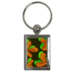 Autumn leafs Key Chains (Rectangle)