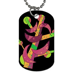 Moon tree Dog Tag (Two Sides)