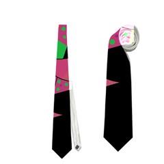 Moon tree Neckties (Two Side)