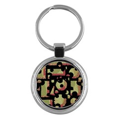 Papyrus  Key Chains (Round)