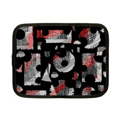 Red shadows Netbook Case (Small)