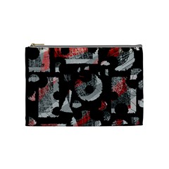 Red shadows Cosmetic Bag (Medium)