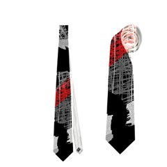 Red shadows Neckties (One Side)