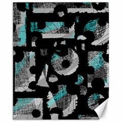 Blue shadows  Canvas 16  x 20