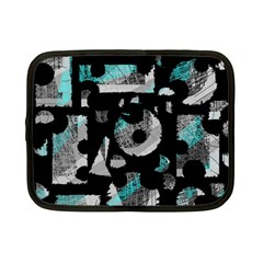 Blue shadows  Netbook Case (Small)