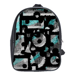 Blue shadows  School Bags(Large)