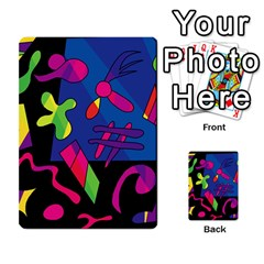 Colorful shapes Multi-purpose Cards (Rectangle)