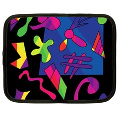 Colorful shapes Netbook Case (XXL)