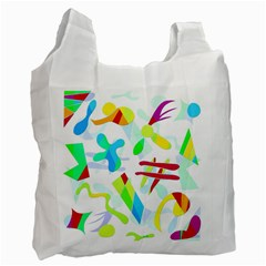 Playful shapes Recycle Bag (Two Side)