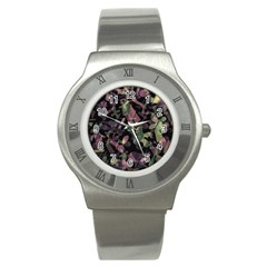 Depression  Stainless Steel Watch