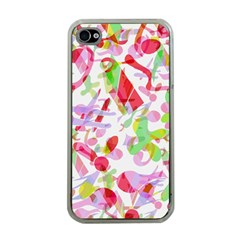 Summer Apple Iphone 4 Case (clear)