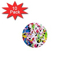 Colorful pother 1  Mini Magnet (10 pack)