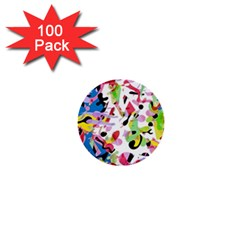 Colorful pother 1  Mini Buttons (100 pack)