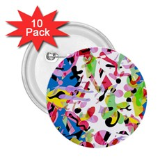 Colorful pother 2.25  Buttons (10 pack)