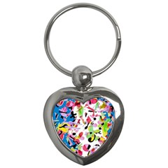 Colorful pother Key Chains (Heart)