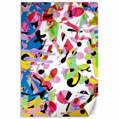 Colorful pother Canvas 24  x 36
