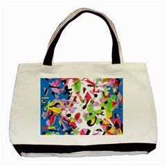 Colorful pother Basic Tote Bag (Two Sides)