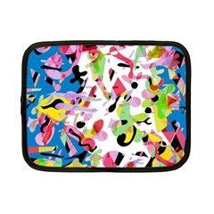 Colorful pother Netbook Case (Small)