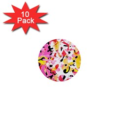 Pink pother 1  Mini Buttons (10 pack)