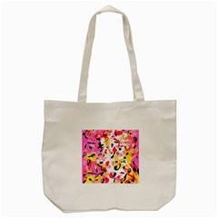 Pink pother Tote Bag (Cream)
