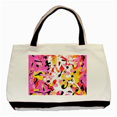 Pink pother Basic Tote Bag (Two Sides)