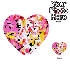 Pink pother Multi-purpose Cards (Heart)