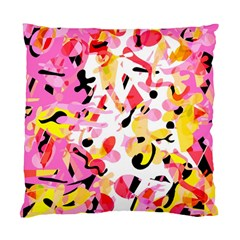 Pink pother Standard Cushion Case (One Side)