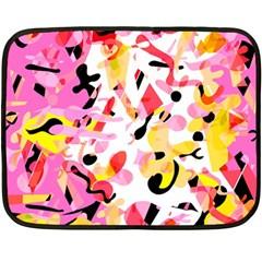 Pink pother Double Sided Fleece Blanket (Mini)