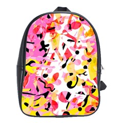 Pink pother School Bags(Large)