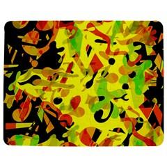 Fire Jigsaw Puzzle Photo Stand (Rectangular)