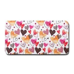 Colorful Cute Hearts Pattern Medium Bar Mats