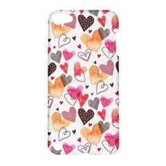 Colorful Cute Hearts Pattern Apple iPod Touch 5 Hardshell Case