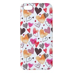 Colorful Cute Hearts Pattern Apple iPhone 5 Premium Hardshell Case