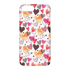 Colorful Cute Hearts Pattern Apple Iphone 7 Plus Hardshell Case