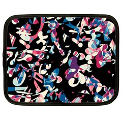 Creative chaos Netbook Case (Large)