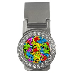 Colorful airplanes Money Clips (CZ)