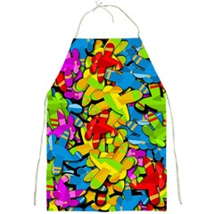 Colorful airplanes Full Print Aprons