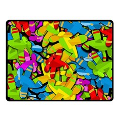 Colorful airplanes Fleece Blanket (Small)