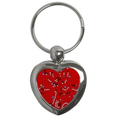 Red fantasy Key Chains (Heart)