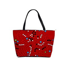 Red fantasy Shoulder Handbags