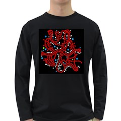 Red fantasy 2 Long Sleeve Dark T-Shirts