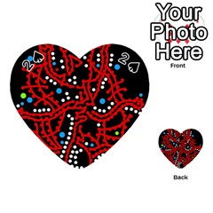 Red Fantasy 2 Playing Cards 54 (heart)
