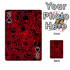 Red emotion Playing Cards 54 Designs