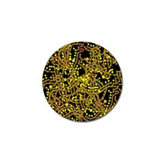 Yellow emotions Golf Ball Marker (4 pack)